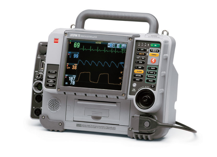 LIFEPAK 15 Defibrillator – The New Standard In Toughness